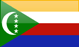 Country flag of Comoros