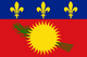 Country flag of Guadeloupe