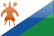 Country flag of Lesotho