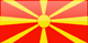 Country flag of Macedonia