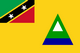 Country flag of Nevis