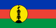 Country flag of New Caledonia