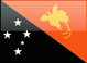 Country flag of Papua New Guinea
