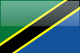 Country flag of Tanzania