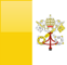 Country flag of Vatican City