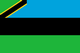 Country flag of Zanzibar