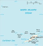 Country map of Anguilla