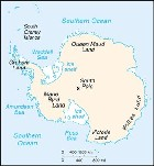 Country map of Antarctica