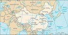 Country map of China