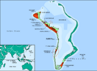 Country map of Diego Garcia