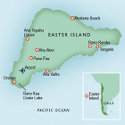 Country map of Easter Island