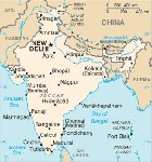 Country map of India