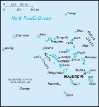 Country map of Marshall Islands